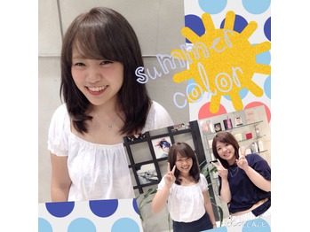 summer☆color!!